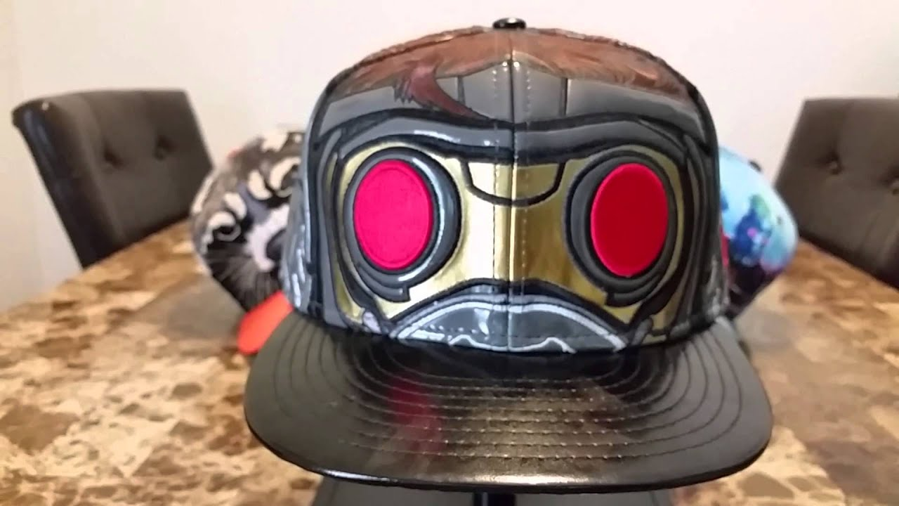 New Era Marvel Guardians Of The Galaxy Star-Lord Hat Collection ... 1366c49ef7a1