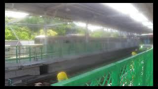 【東急東横線】 多摩川駅 東京メトロ10000系10132F 特急 和光市行き 通過 & 5050系5160F 各停 元町・中華街行き 発着