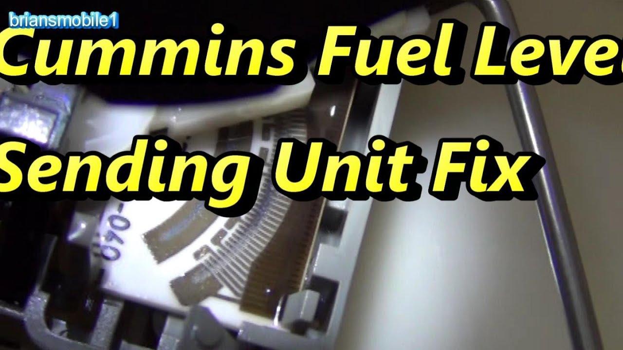Monaco Rv Wiring Diagram 9004 Bulb Cummins Fuel Level Sending Unit Fix - Youtube