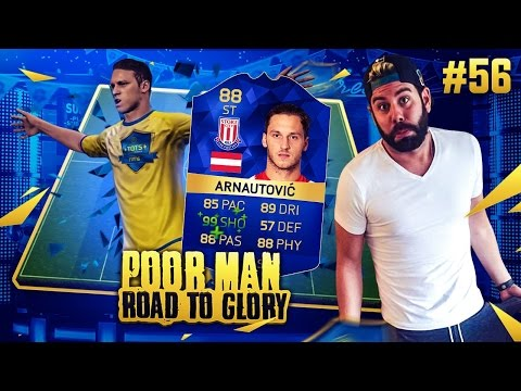TOTS ARNAUTOVIC IS THE BEST STRIKER IN FIFA!!!! - POOR MAN RTG #56 - FIFA 16 Ultimate Team