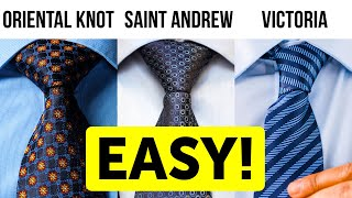 How to Tie a Tie In a Minute | The Easiest Tutorial