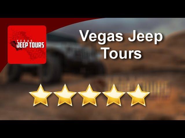 Vegas Jeep Tours Las Vegas Superb Five Star Review by Jeff Clark