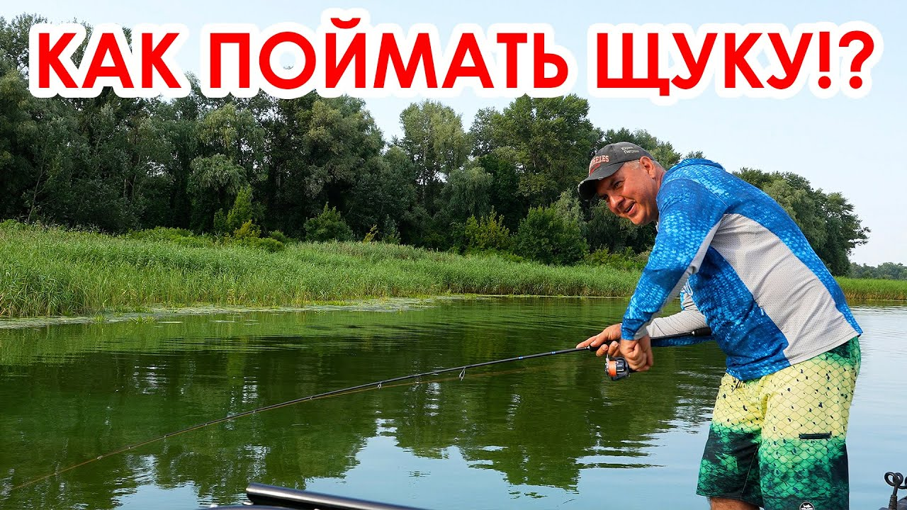 Рыбалка! Учимся ловить ЩУКУ летом!
