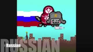 Nyan Cat С РАЗНЫХ СТРАН!