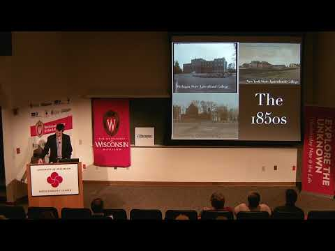 Wisconsin Idea Seminar - Land-Grant Universities & the WI Idea. Adam Nelson. 2017.10.17
