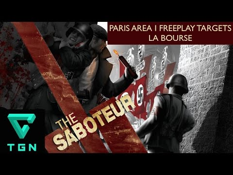 The Saboteur Paris Area I Freeplay Targets La Bourse