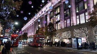 видео Оксфорд стрит (Oxford street) в Лондоне