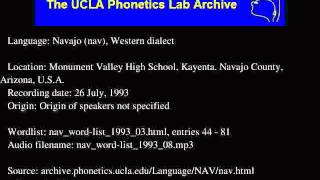 Navajo audio: nav_word-list_1993_08