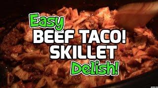 Easy Beef Taco Skillet - Ninja Cooking System Recipe