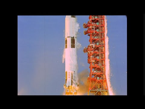 Apollo 14 / Saturn V launch - HD slow motion