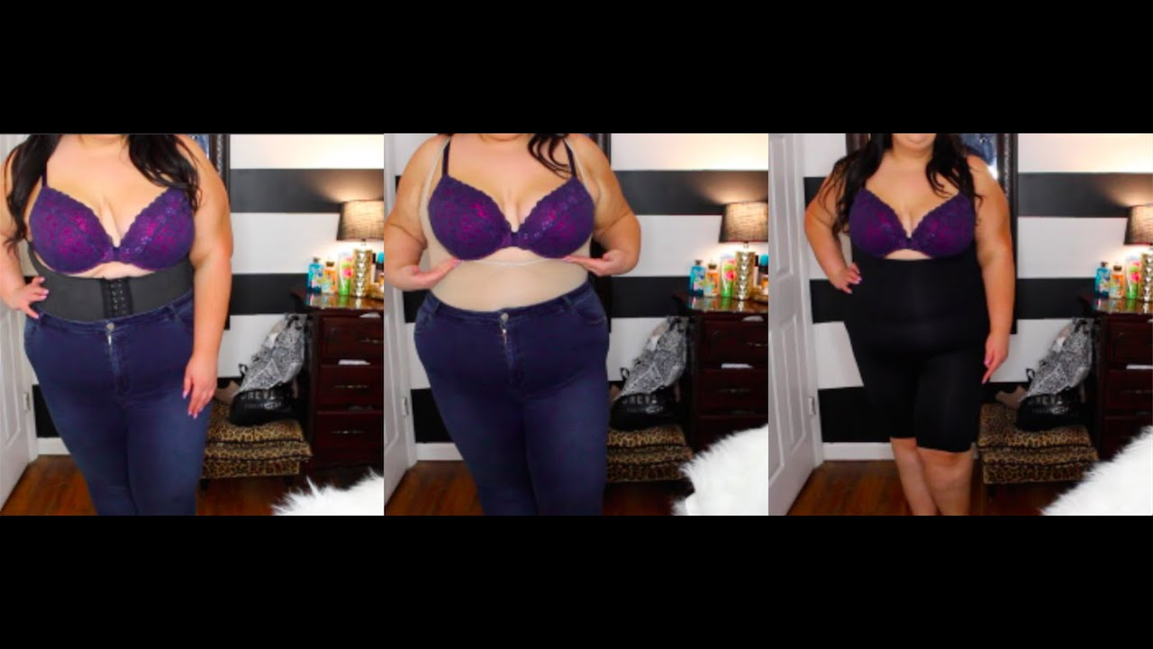 f9c8911bc9 Plus Size Shapewear Review and Try On - YouTube