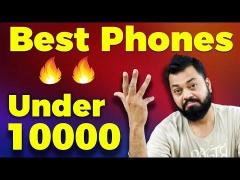 TOP 6 BEST MOBILE PHONES UNDER ₹10000 - August 2018 🔥🔥🔥