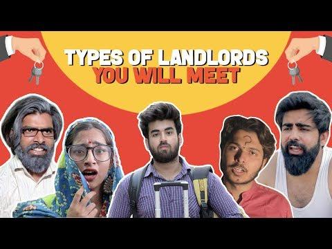Types Of Landlords You'll Meet Feat. Sadak chhap | Hasley India