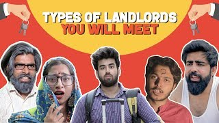 Types Of Landlords You'll Meet Feat. Sadak chhap | Hasley India