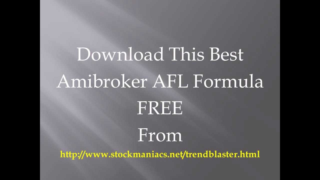 Free trading systems for amibroker
