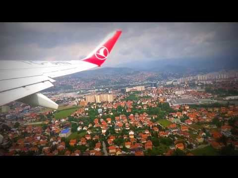 Take off Sarajevo International Airport with Turkish Airlines