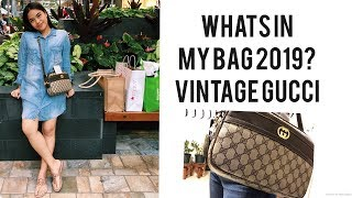 What's In My Bag 2019? | Vintage Gucci
