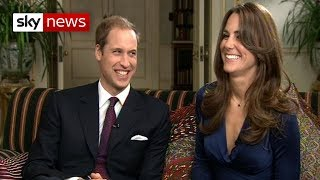 Prince William And Kate's First Interview Since Getting Engaged
