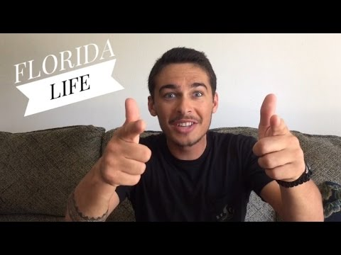 What life is like living in FLORIDA!! (Pros and Cons) - Vlog about how life is like in florida