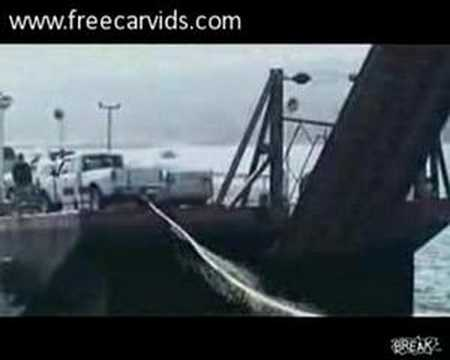 Truck Accident on a Ferry Boat