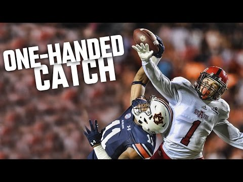 Auburn true freshman receiver Kyle Davis makes another 'wow' play with one-handed catch