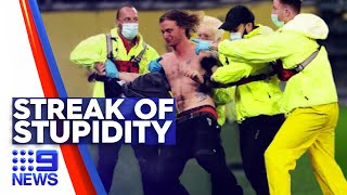 Optus Stadium pitch invader facing $50k fine