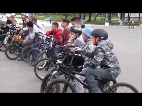 Соревнование по велоспорту BMX в Йошкар-Оле
