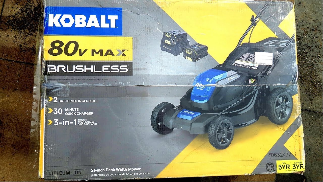 Kobalt 80 Volt Max Lawn Mower