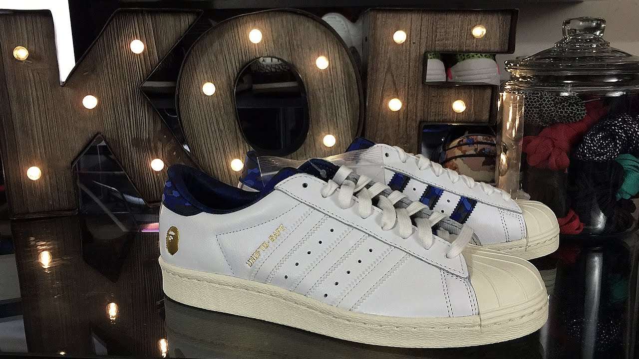 10d67d449 KoF Mailbox  UNDFTD x BAPE x adidas Superstar Pack - YouTube