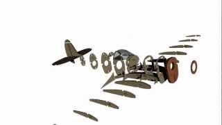 Supermarine Spitfire Mk.ix Rc Model Plan