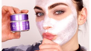 Glam Glow Gravity Mud Mask | Does IT WORK????? | Ruby Golani