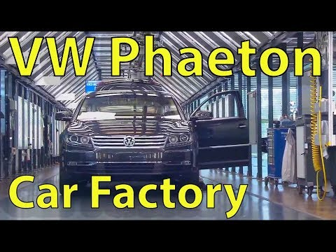 VOLKSWAGEN PHAETON Car Factory Assembly Plant, Gläserne Manufaktur(Dresden, Germany)