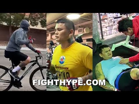 MAIDANA MELTING THE FAT AWAY; ARIZA'S DIVERSE WORKOUT PLAN RAPIDLY GETTING HIM IN FIGHTING SHAPE