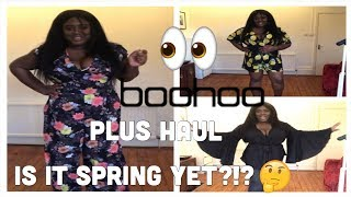 BOOHOO PLUS | HUGE SPRING TRY ON HAUL | PLUS SIZE