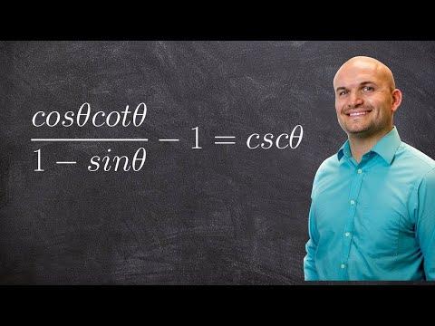 Verifying trigonometric identities, hard with multiple steps