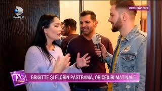 Teo Show (31.01.) - EXLUSIV | Acasa la Brigitte si Florin Pastrama! Cum isi incep cei doi dimineata?