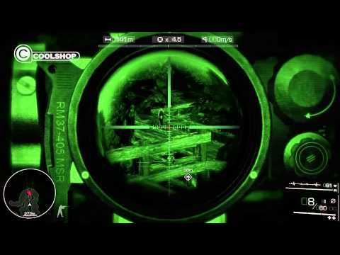 Sniper Ghost Warrior 2 Tactical Optics Gameplay