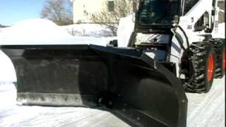 Bobcat Snow V-Blade Attachment | Bobcat Equipment