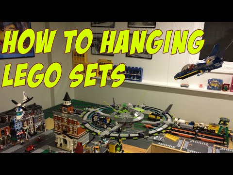 How to #1 - Hanging Lego Sets from Ceiling