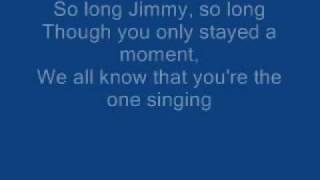 James Blunt - So Long Jimmy lyrics