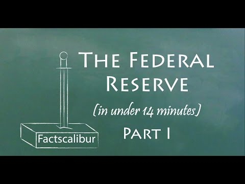 Understand the Federal Reserve in Less Than 6 Minutes (Part I)