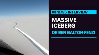 Massive iceberg, nearly the size of Hobart, breaks off from Antarctica | ABC News