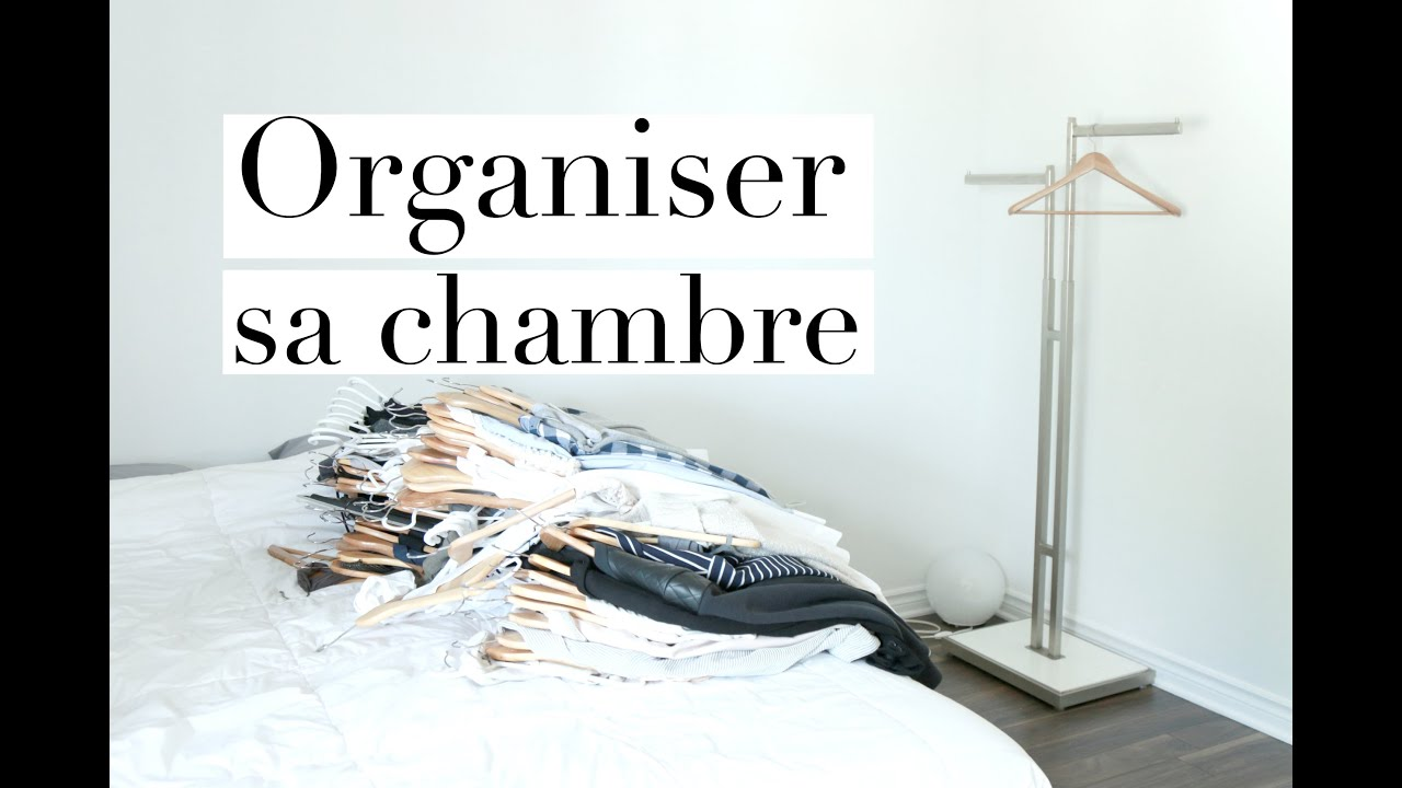 organiser sa chambre s rie minimaliste jamila paulmin youtube. Black Bedroom Furniture Sets. Home Design Ideas