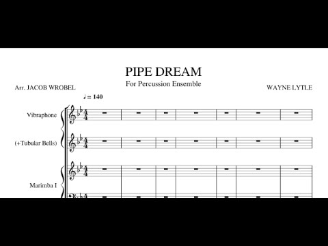 Animusic - Pipe Dream for Percussion Septet
