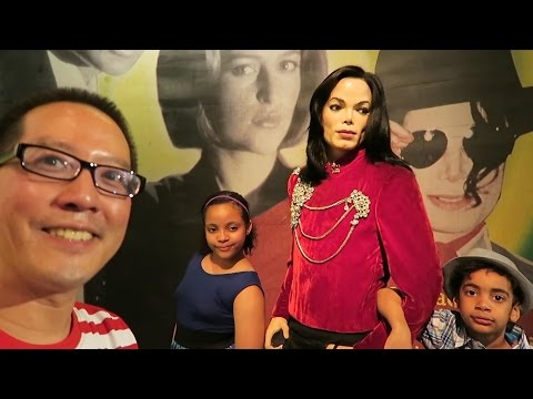 Madame Tussauds New York - Video Blog