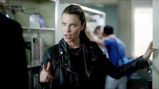 Lucifer 2x12 Lucifer & Chloe Library Scene & Making Out Talk Season 2 Episode 12