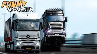 EP.#31 - Funny & Random Moments - Euro Truck Simulator 2