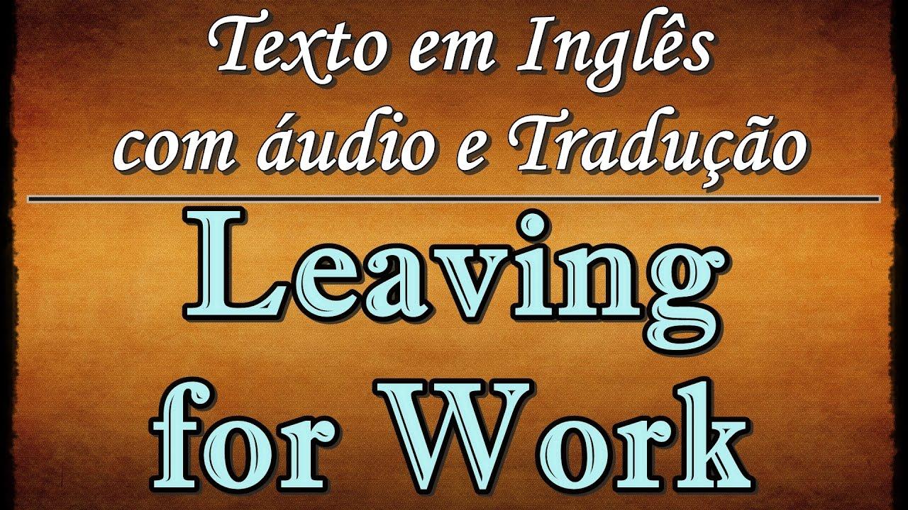Texto Em Inglês Com áudio E Tradução 01 Youtube