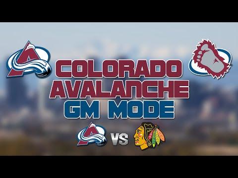NHL 16: Avalanche GM Mode vs Blackhawks [Y2 G43, Ep. 12] - LAST PLACE?!