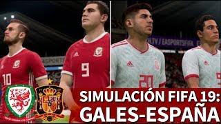 Gales - España | FIFA 19: simulación del amistoso internacional | Diario AS